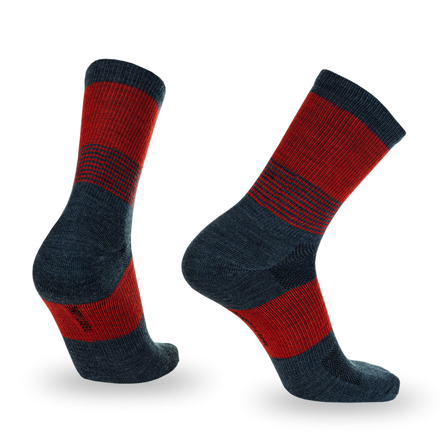 Bands Merino Wool - Navy and Red