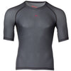 Zag 2.0 Grey Unisex Base Layer- Short Sleeve