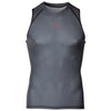 Zag 2.0 Grey Unisex Base Layer- Sleeveless