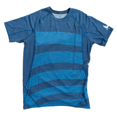 Kids Merino Tech Tee - Blues