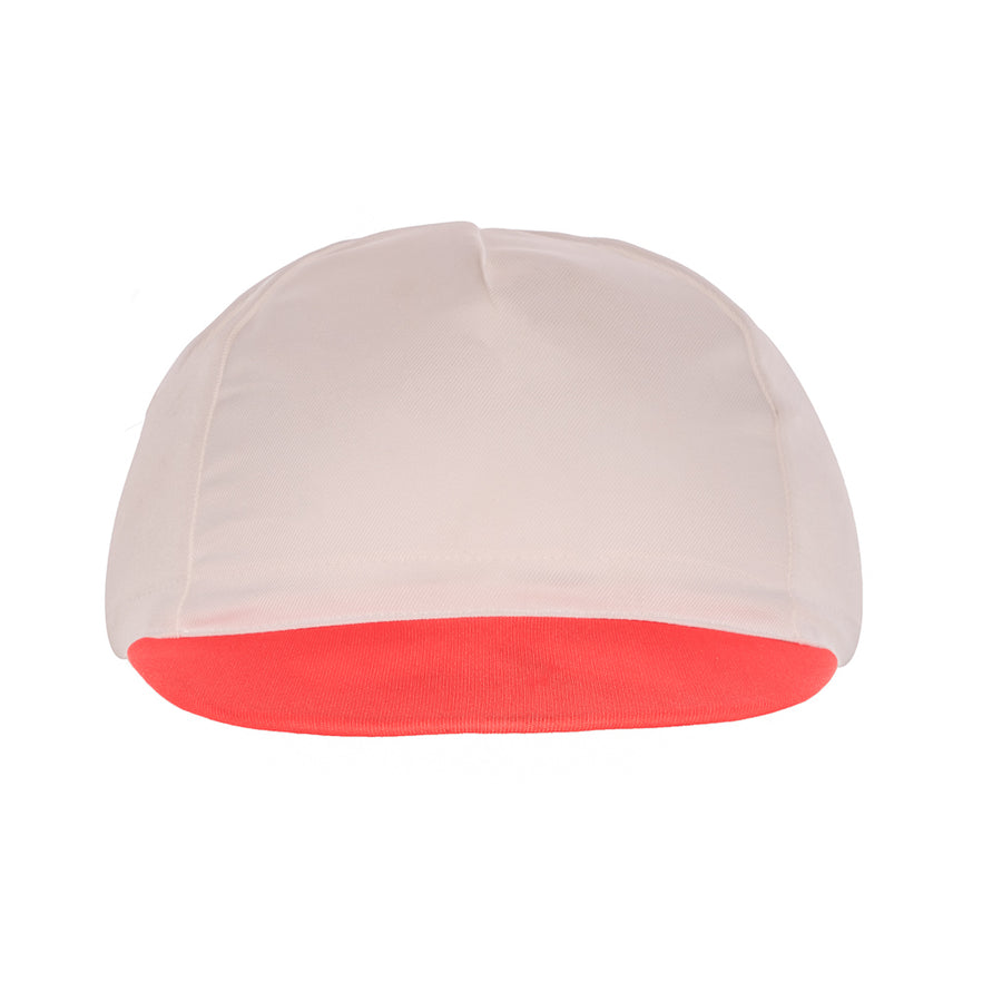 DLR White Cycling Cap