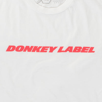 Donkey Label Logo T-Shirt- Made in USA