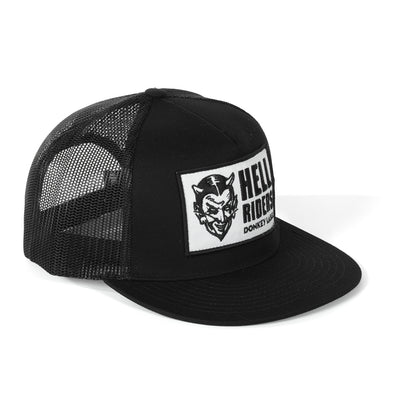 Hell Riders Flat Brim Hat