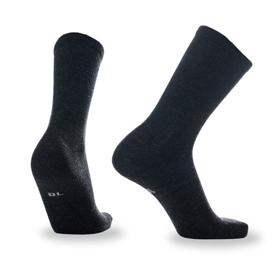 Staple Merino Sock - Charcoal