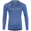 Lake Street Tech T- Long Sleeve Heathered Blue