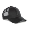Black on Black Zag Mesh Hat