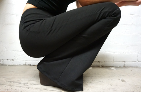 Bio-degradable Bamboo Flares in Black