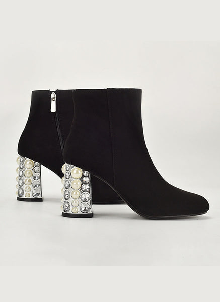 8200049 Rhinestone Ankle Boots