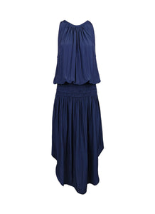 N180079 Sleeveless Midi Dress *Navy Blue