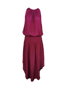 N180079 Sleeveless Midi Dress *Dark Magenta