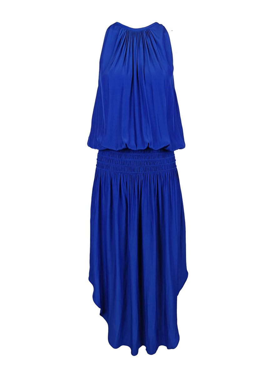 N180079 Sleeveless Midi Dress *Electric Blue