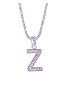 SHA0294 Alphabet Letter 'Z' Necklace