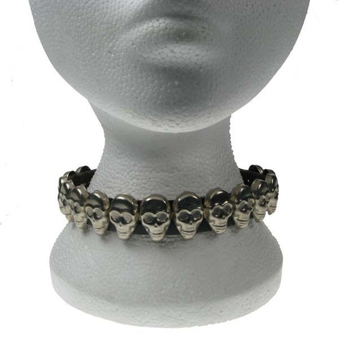 Various Punk Leather Skulls Choker Choker