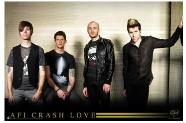 AFI Crash Love Textile Poster Poster