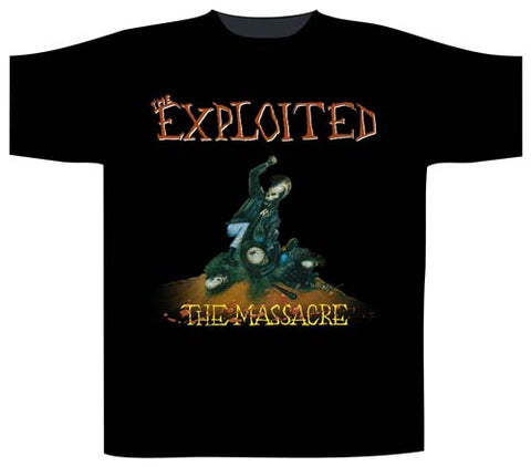 Exploited The Massacre Mens Tshirt