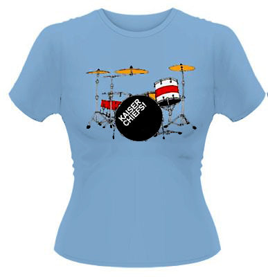 Kaiser Chiefs Drums Womens Top