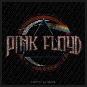 Pink Floyd Distressed Dark side of the Moon Woven Patche