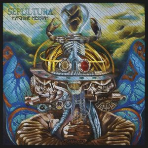 Sepultura Machine Messiah  Woven Patche