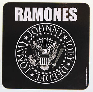Ramones Crest Single Coaster General Stuff