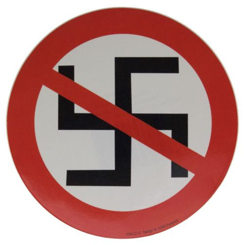 Anti Nazis  Anti Nazis Sticker