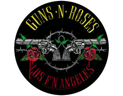 Guns N Roses Los FN Angeles Woven Patche