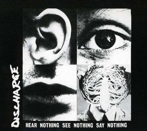 Discharge Hear Nothing See Nothing Say Nothing  Vinyl LP