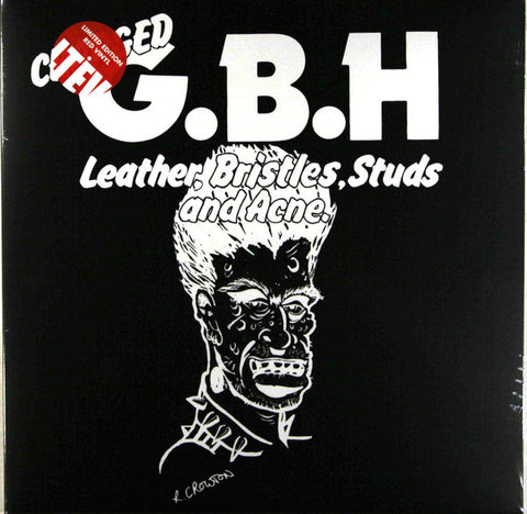 GBH Leather, Bristles, Studs and Acne (Limited Edition Red)  Vinyl LP