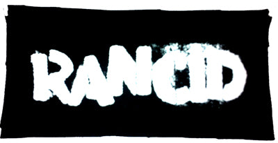 Rancid logo Printed Patche