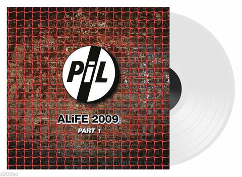 Public Image Limited ALife 2009 Part 1 white Vinyl Vinyl LP