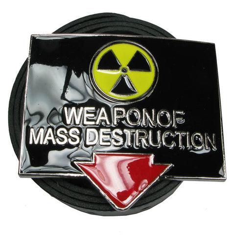 "Various Belt ""Weapon Of Mass Destruction"" Belt Buckle Belt Buckle"