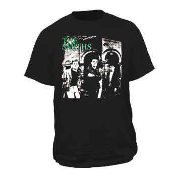 Smiths Salford Lads on Black Mens Tshirt