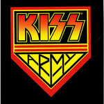 Kiss  Army Greeting Card