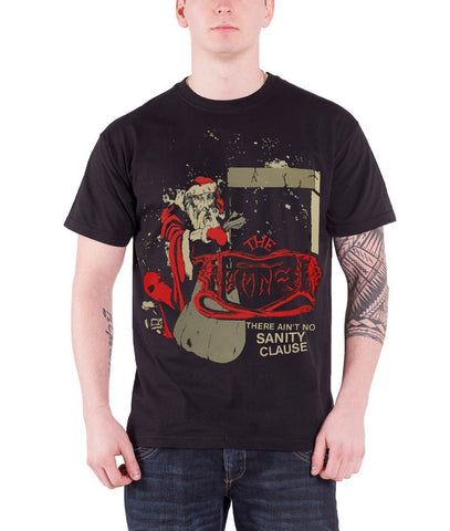 Damned There Aint No Sanity Clause Santa T-shirt