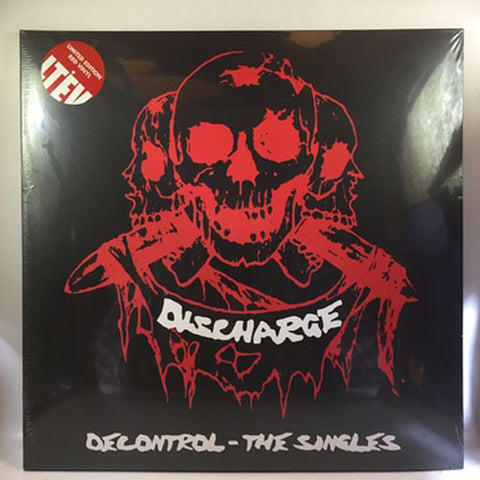 Discharge Decontrol The Singles Limited Edition Grey Vinyl  Vinyl LP