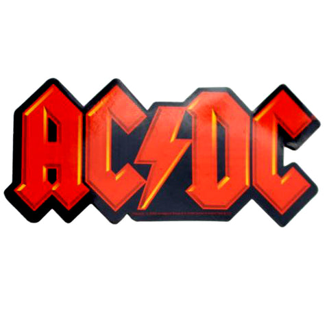 ACDC Orange Logo Sticker