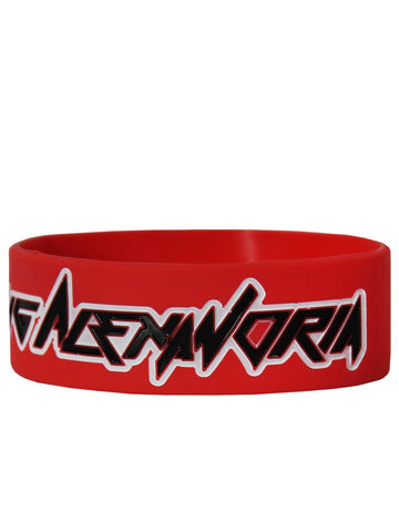 Asking Alexandria Logo Red Wristband Wristband