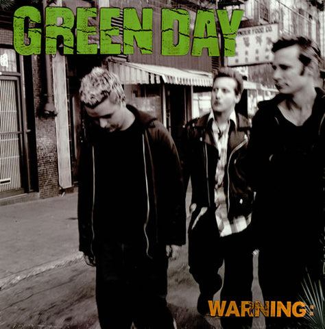 Green Day  Warning CD