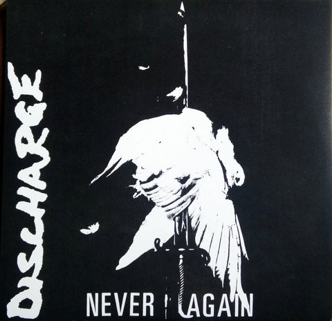 Discharge Never Again Limited Edition Grey Vinyl  Vinyl LP