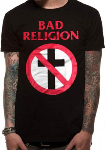 Bad Religion No Cross Mens Tshirt