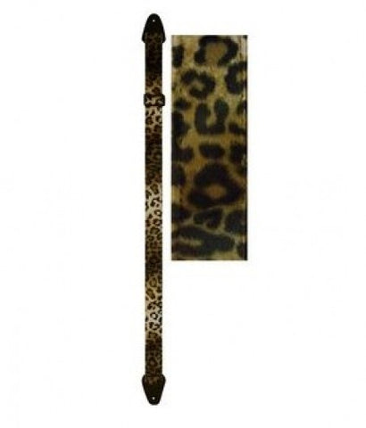 Various Rock Guitar Strap Perris Cheetah fake fur  Guitar Strap