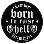 Motorhead Born to Raise Hell Woven Patche