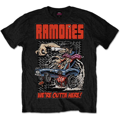 Ramones Outta Here T-shirt