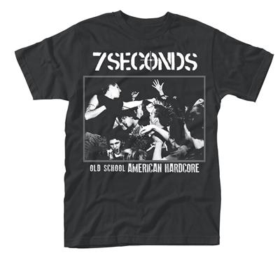 7 Seconds Old School American Hardcore Mens Tshirt