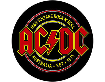 ACDC High Voltage Rock N Roll backpatch  Backpatche