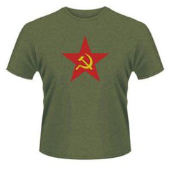 Various Brands Communist Star T-shirt