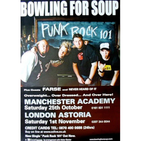 Bowling For Soup Band  Poster