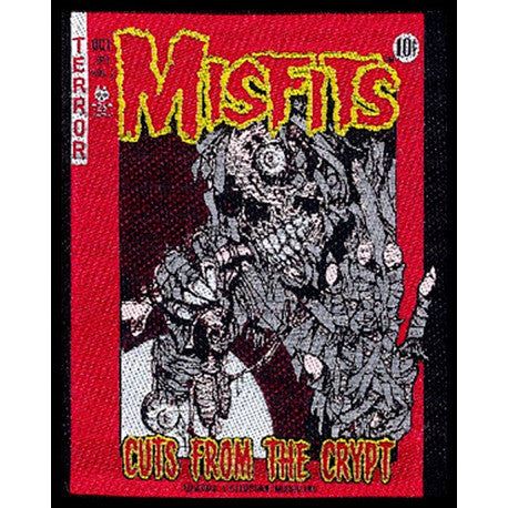Misfits Cuts from the Crypt Woven Patche