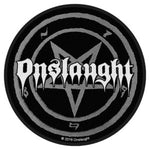 Onslaught Pentagram  Woven Patche