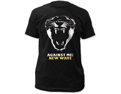 Against Me New Wave Mens Tshirt