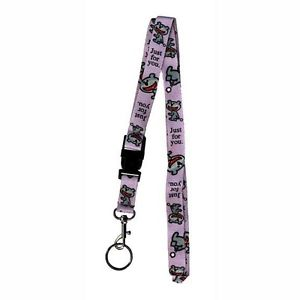 Dog of Glee  Just for you  Lanyard